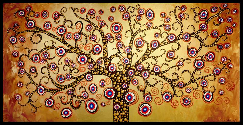 Dibujos de árboles abstractos - Imagui