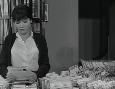 Anna Karina dans Vivre sa vie de Jean-Luc Godard, 1962.