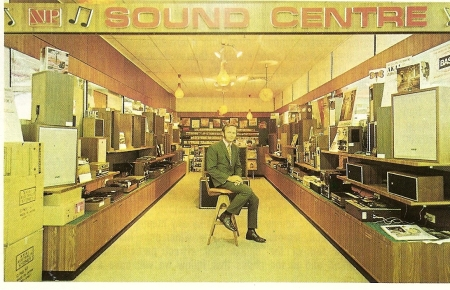 Sound Centre - Gerry Harvey, 1973.