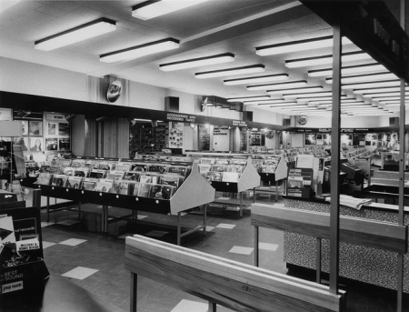 Inside the Oxford Street HMV Store in the 60s (18)