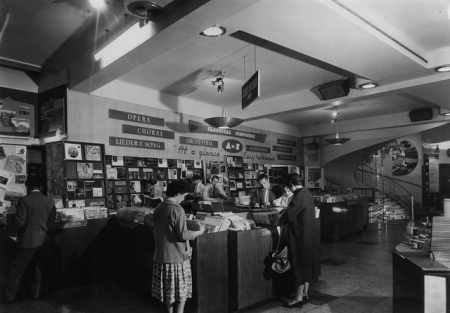Inside the Oxford Street HMV Store in the 60s (9)